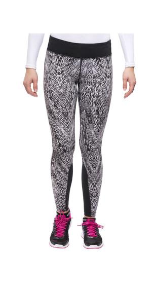 Nike Epic Printed Run Tight Women black/mslvr